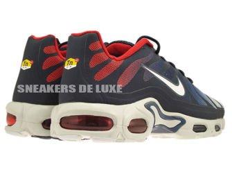 483553-416 Nike Air Max Plus TN Fuse Midnight Navy/White University Red