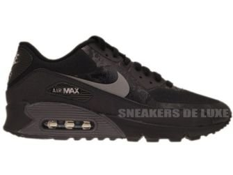 532470-090 Nike Air Max 90 Hyperfuse Premium Black/Reflect Silver-Black
