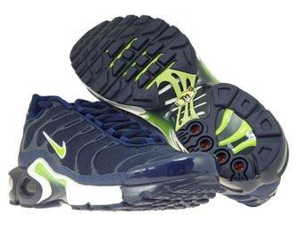 655020-421 Nike Air Max Plus TN 1 Midnight Navy/Volt-Blue-Void