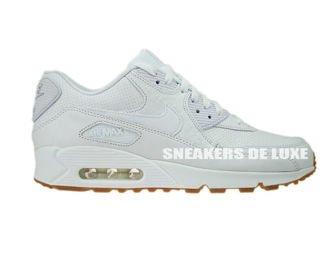 705012-111 Nike Air Max 90 Leather PA White/White-Gum Light Brown