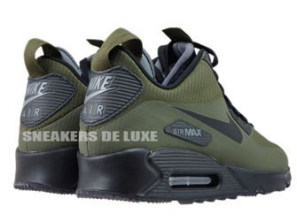 806808 300 Nike Air Max 90 Mid Winter Dark LodenBlack Dark