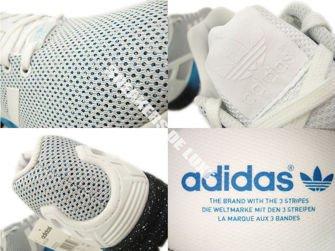 AF6326 adidas ZX Flux ftwr white / solar blue2 s14 / dark blue