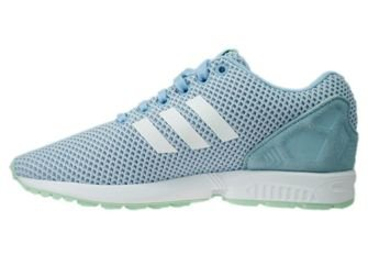 AQ3068 adidas ZX Flux clear sky / ftwr white / frozen green