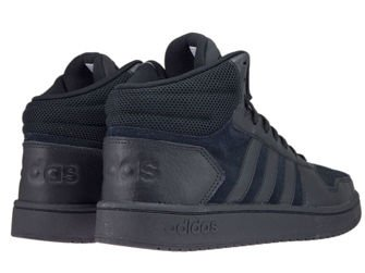B44649 adidas Hoops 2.0 Mid Core Black