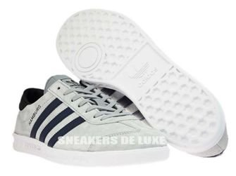 BB5298 adidas Hamburg Mid Grey/Collegiate Navy/Ftwr White
