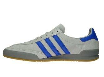 CQ2769 adidas Jeans Grey Two/Hi-Res Blue/Grey Three