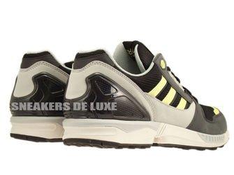D65462 adidas ZX 8000 Black / Citrine / Pearl Grey