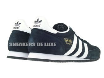 G16025 adidas Dragon core black / white / gold met.