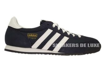 G50919 adidas Dragon Dark Blue / White / Gold Met