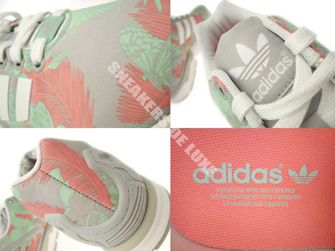 M19456 adidas ZX Flux Clear Onix / Ftwr White / Vista Pink