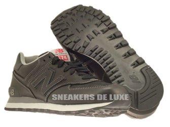 ML574UKD New Balance 574 Black Leather
