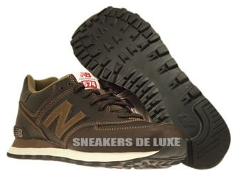 ML574UKW New Balance 574 Brown Leather