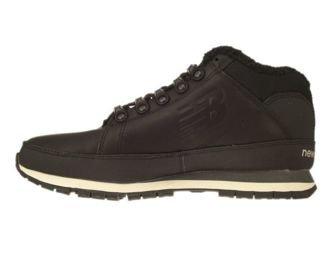 New Balance HL754BN Black Leather Fur
