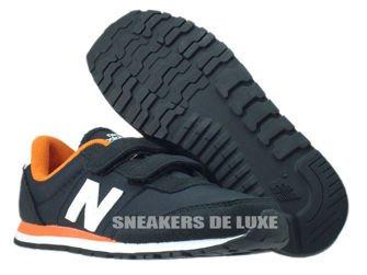 New Balance KV396NOY Black / White / Orange