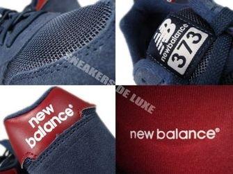 New Balance M373SNR 373 Navy/Red