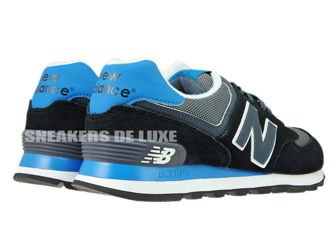New Balance ML574CPU Black / Grey / Blue