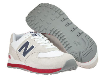 New Balance ML574ESA Nimbus Cloud with Navy