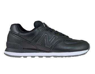 New Balance ML574SNR Black with White