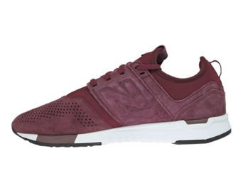 New Balance MRL247LR Burgundy with White