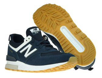 New Balance MS574FCN Vintage Indigo with White