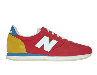 New Balance U220FH Team Red with Varsity Gold