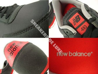 New Balance U410CPB Black / Red