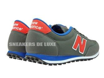 New Balance U410GRB Grey / Red / Blue