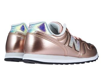 New Balance WL373GA2 Rose Gold with White