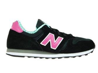 New Balance WL373WPG Black / Pink / Green
