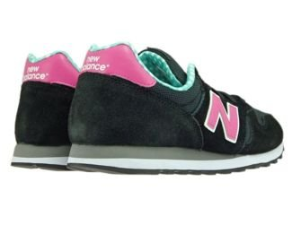 New Balance WL373WPG Black / Pink / Green