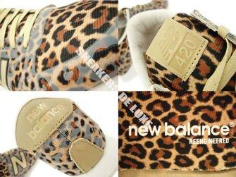 New Balance WL420DFL Leopard