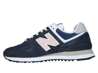 New Balance WL574BTC Outerspace with Oyster Pink