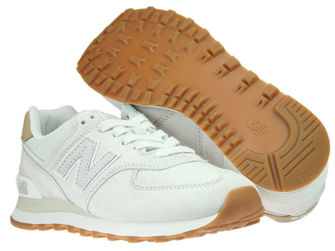 New Balance WL574LCC Light Cliff Grey with Light Cashmere