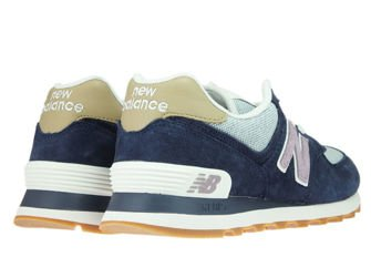 New Balance WL574NVC Navy with Cashmere