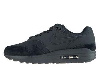 Nike Air Max 1 319986-045 Black/Black-Black-White