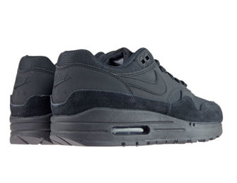 Nike Air Max 1 319986-045 Black/Black-Black-White
