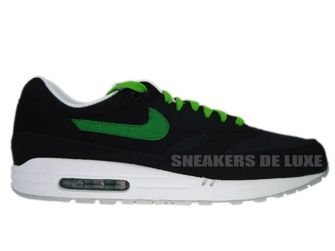 Nike Air Max 1 Black/Victory Green-White-Red 308866-020