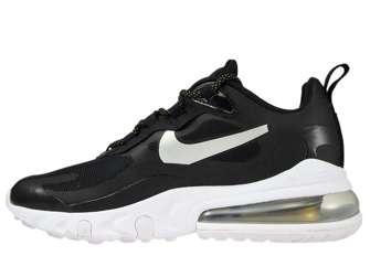 Nike Air Max 270 React CT3426-001 Black/Metallic Silver