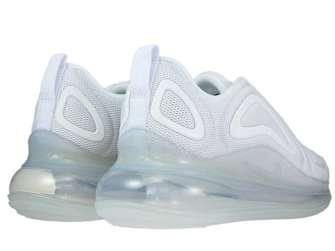Nike Air Max 720 AR9293-101 White/White-Metallic Platinum