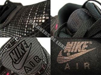 Nike Air Max 90 Black/Black-Vivid Pink 415418-001