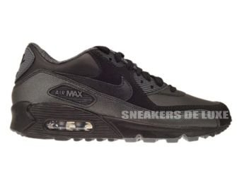 Nike Air Max 90 Black/Dark Grey-Metallic Silver