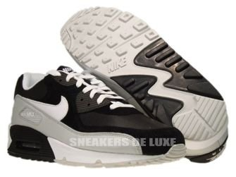 Nike Air Max 90 Black/White-Neutral Grey