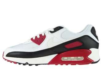 Nike Air Max 90 CT4352-104 White/White-New Maroon-Black