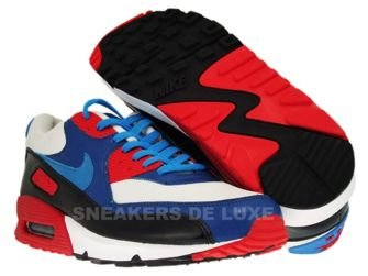 Nike Air Max 90 ID White/Laser Blue-Atom Red 352641-141