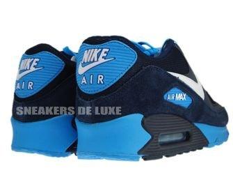 Nike Air Max 90 Midnight Blue/Black-White-Blue Glow 325018-407