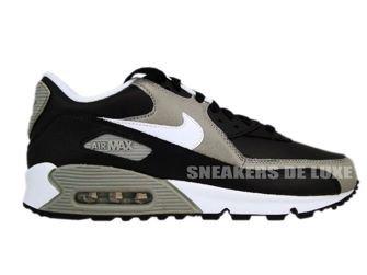 Nike Air Max 90 Premium Black/White-Medium Grey 333888-008
