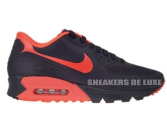 Nike Air Max 90 Premium Hyperfuse Port Wine/Bright Crimson 454446-661