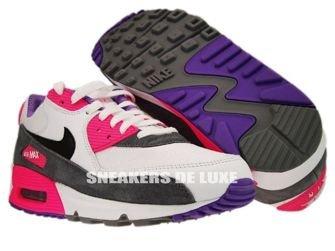 Nike Air Max 90 White/Black Cool Grey Pink  325213-103