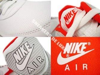 Nike Air Max 90 White/Team Orange-Neutral Grey 309299-121