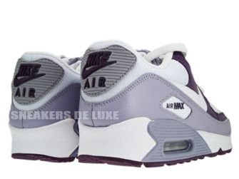 Nike Air Max 90 White/White-Provence Purple-Wine 325213-108